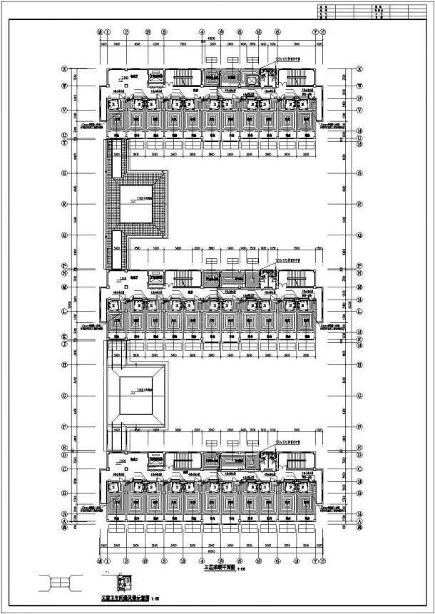 [山东]敬老院扩建项目地板辐射采暖系统施工图-图一