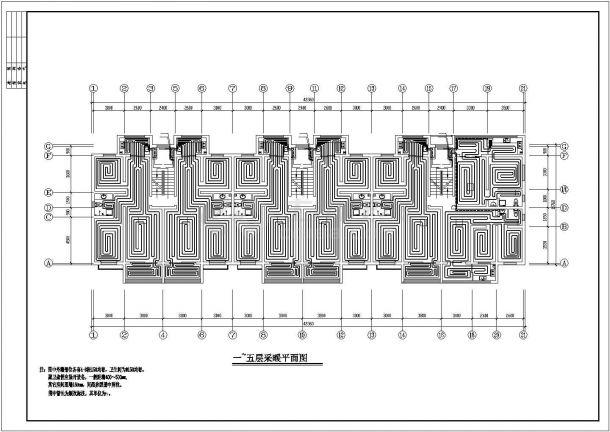 [新疆]住宅小区地板辐射采暖系统设计施工图-图二