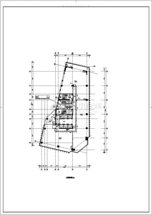 [北京]一类高层建筑给排水图纸-图一