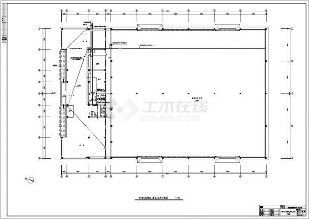 一套工业厂房电气施工图(含设计说明)-图一