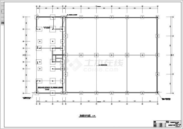 一套工业厂房电气施工图(含设计说明)-图二