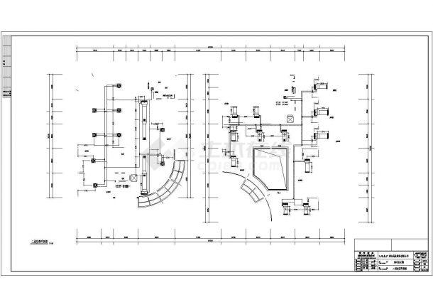 武汉市五层综合办公楼多联机空调设计图-图二