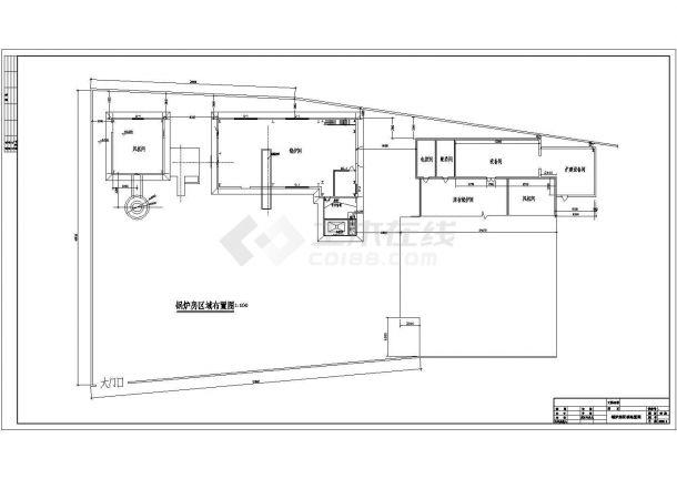 黄陵县河西供热点集中供热锅炉房扩建设计-图一