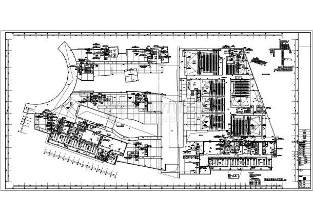 [湖南]大型购物中心暖通空调施工图-图二