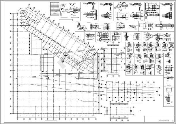 大型综合楼型钢混凝土结构施工图-图二
