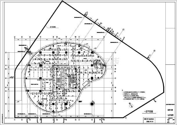 某高层建筑给排水设计-图二
