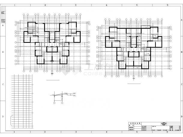 [安置小区]四川18层剪力墙结构住宅施工图-图一