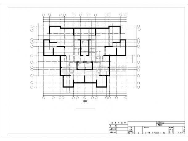 [安置小区]四川18层剪力墙结构住宅施工图-图二