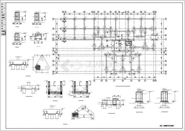 [城市印象]18层剪力墙结构住宅结构图-图一