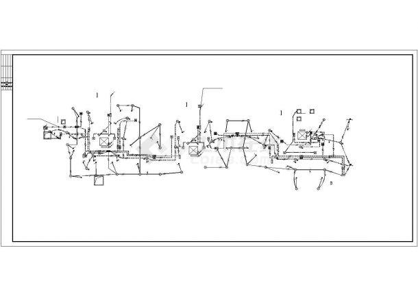[河北]某8090㎡平方米十一层高档住宅电气全套施工图(甲级院设计)-图一