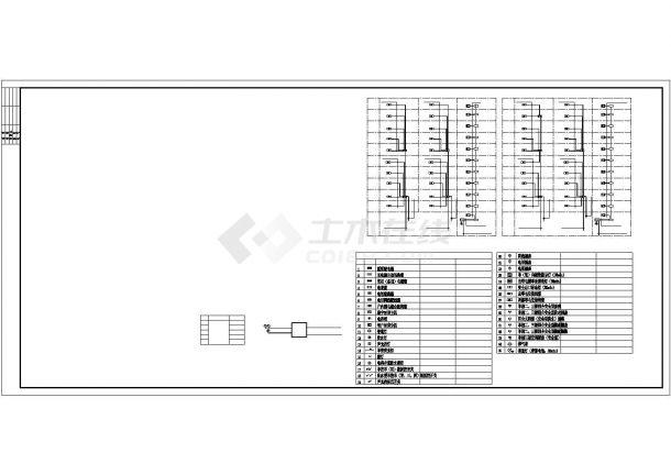 [河北]某8090㎡平方米十一层高档住宅电气全套施工图(甲级院设计)-图二