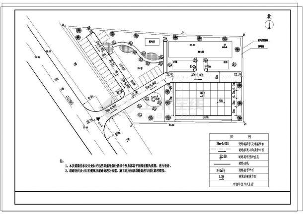 [安徽]小型服务部办公楼给排水施工图(冷凝水管线综合设计)-图二