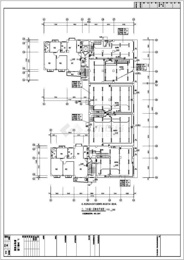 湖北大型工业厂房电气施工全套图纸(含厂房、职工宿舍、办公楼、仓库)-图一