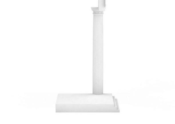 欧式罗马柱3D模型下载-图二