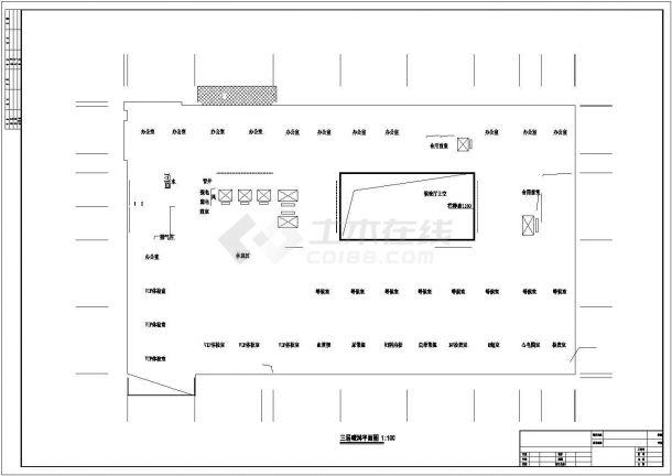 [湖南]某35655㎡二十二层医院综合楼给排水施工图纸-图一