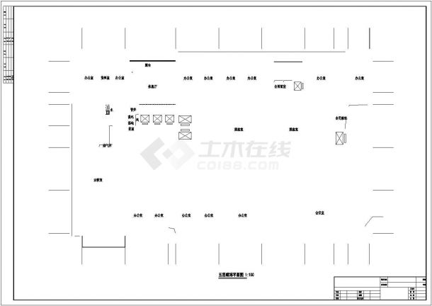 [湖南]某35655㎡二十二层医院综合楼给排水施工图纸-图二