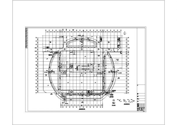 15912㎡二十三层大型汽车中心给排水全套图纸(能型灭火系统、直饮水系统、循环水系统)-图一