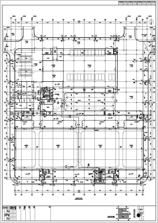 15912㎡二十三层大型汽车中心给排水全套图纸(能型灭火系统、直饮水系统、循环水系统)-图二