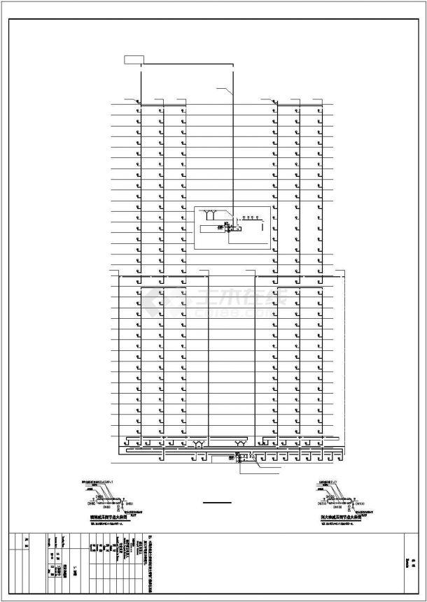 [重庆]某三十三层一类高层住宅楼建筑给排水图纸(含设计说明)-图一