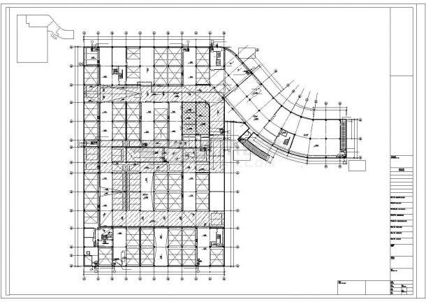 某地下机械停车库给排水消防施工图-图二