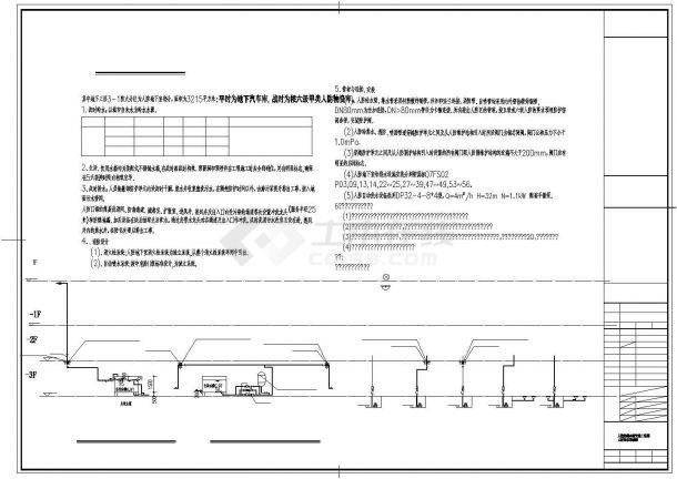 [江苏]57884㎡十六层医院高层建筑给排水(喷淋)图纸-图二