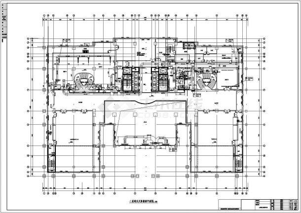 [江苏]47117㎡五星级综合酒店暖通空调设计施工图-图一