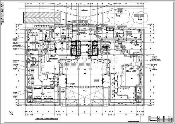 [江苏]47117㎡五星级综合酒店暖通空调设计施工图-图二