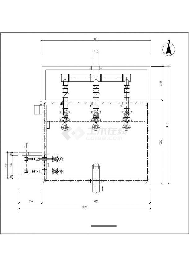 [长葛]某293㎡单层混凝土结构工程电气图纸-图一