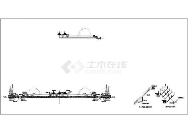 [宁波]酒店景观给排水施工图-图二