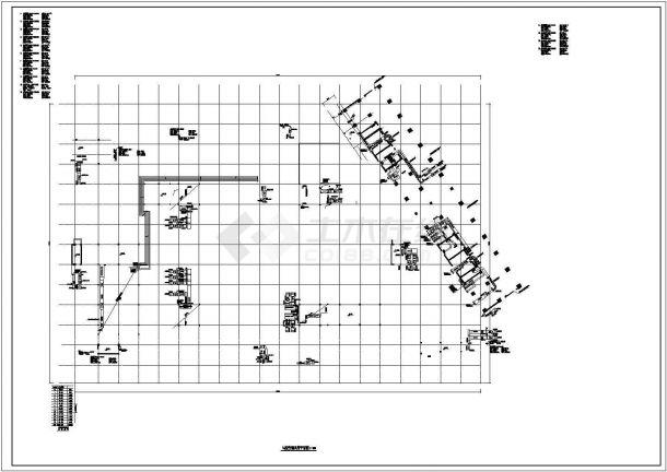 【上海】三十层大型购物中心暖通空调及通风排烟系统设计施工图-图一