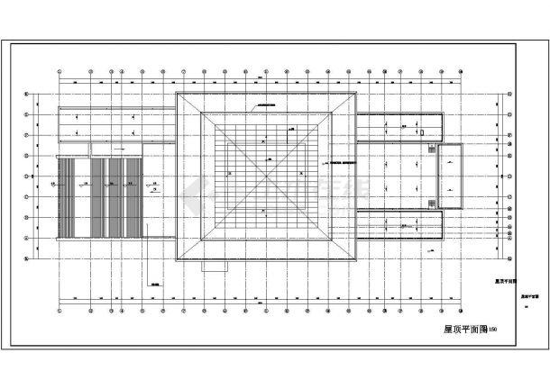 [河南]29175㎡五层综合办公楼强弱电施工图纸(含安保、楼宇自控、停车场智能管理系统)-图一