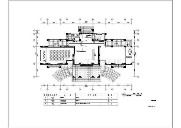 苏州某10层办公楼智能化弱电系统图-图一