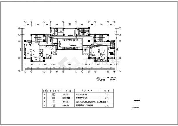 苏州某10层办公楼智能化弱电系统图-图二