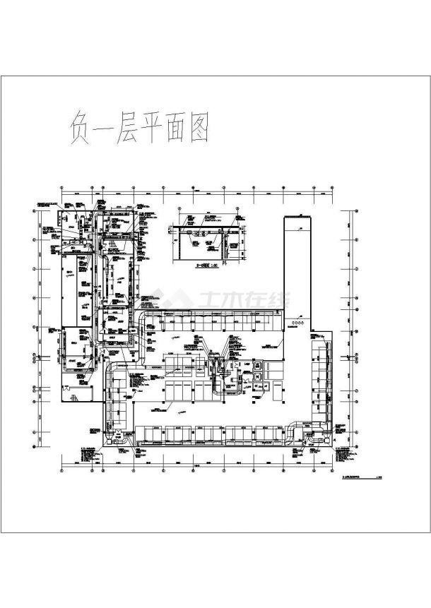 [安徽]16082㎡九层综合办公楼多联机空调及通风排烟88必发手机版登录设计施工图-图二