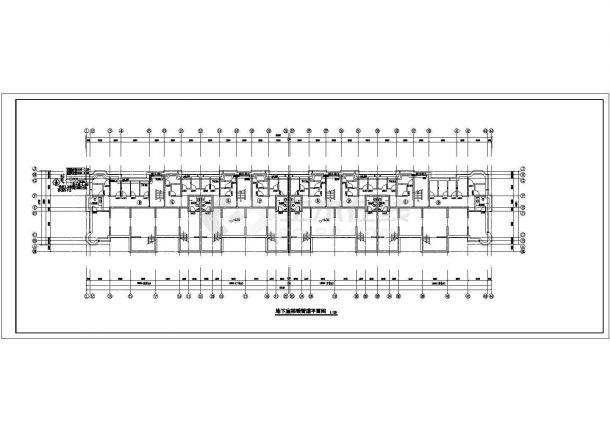 张家口某5804㎡地上六层住宅楼地暖图纸(地板辐射采暖系统)-图一