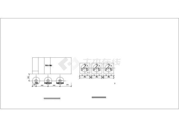 某检查站5吨地埋式生活污水处理工程施工图-图二