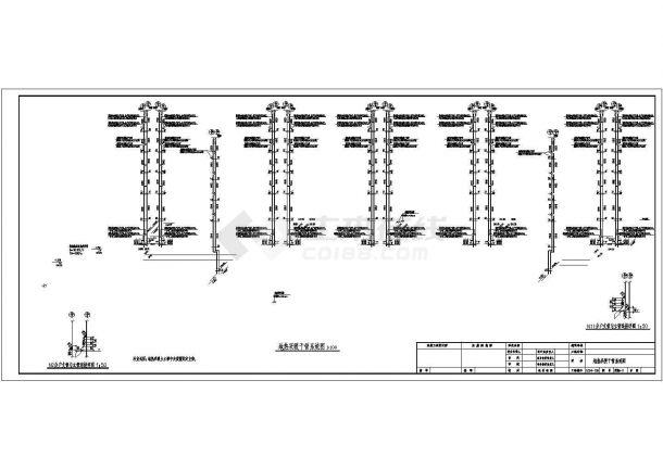 [黑龙江]六层标准住宅楼地板辐射采暖系统设计施工图(含大样图)-图一