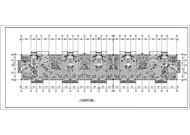 [黑龙江]六层标准住宅楼地板辐射采暖系统设计施工图(含大样图)-图二