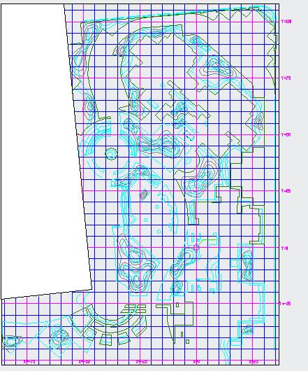 [成都]某小区园林工程植物种植设计施工图-图二