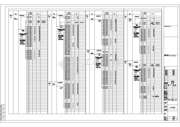 某地上三层钢筋混凝土结构生产厂房电气设计图纸-图二