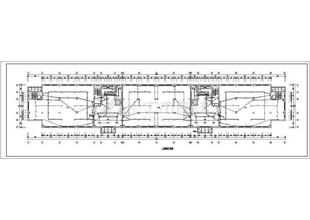 某地上五层生产厂房电气设计图(一级负荷,地下一层)-图二