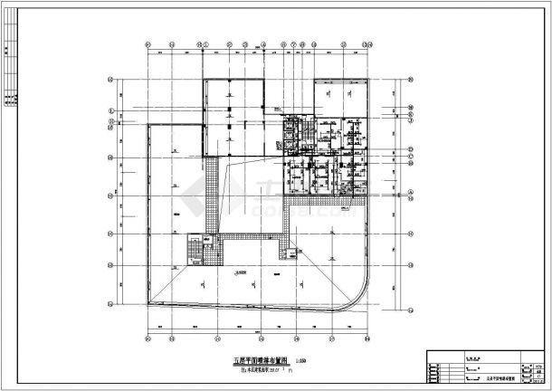 [武汉]某25层商住小区给排水施工图-图二
