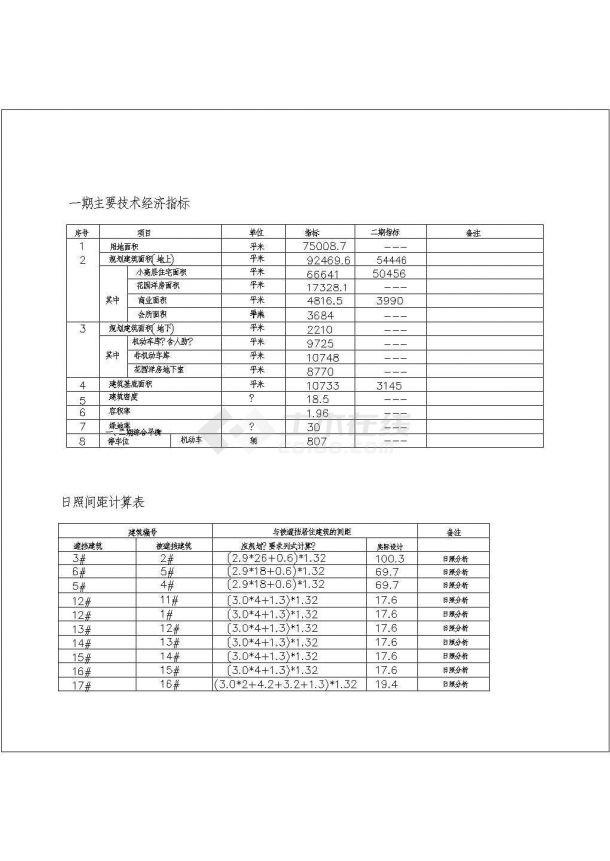 江苏常州某住宅小区管线综合图-图一