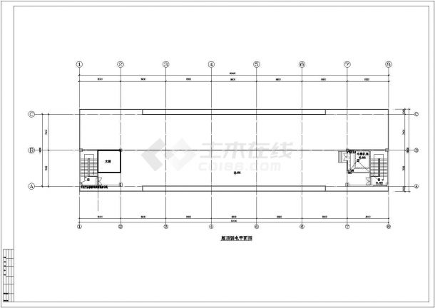 工业厂房电气设计施工图-图一