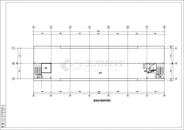 工业厂房电气设计施工图-图二
