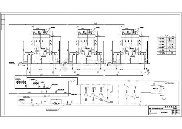 某集中供热锅炉房主体设计图纸(共7张图)-图二