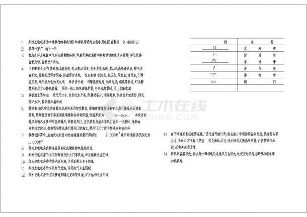 地下室中央空调系统设计施工图(共10张图)-图一