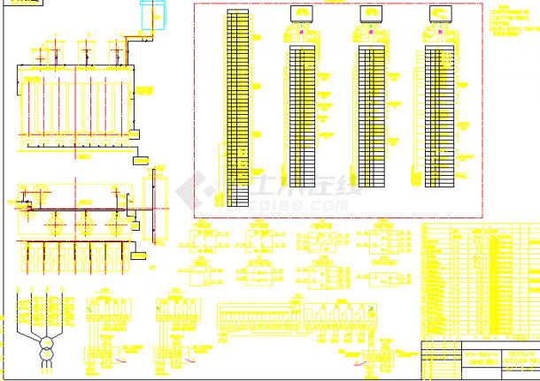 SFZ10-28000变压器电气设计cad图纸-图二