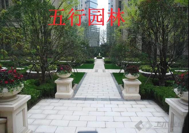 园林景观实景图片2