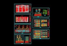 某建筑配电系统图